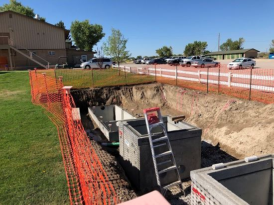Golf Course septic-to-sewer connection project