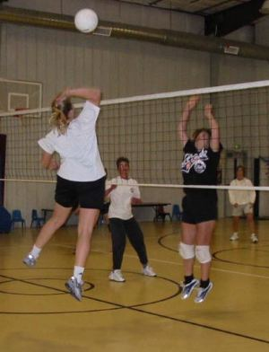 Co-Ed Volleyball Game