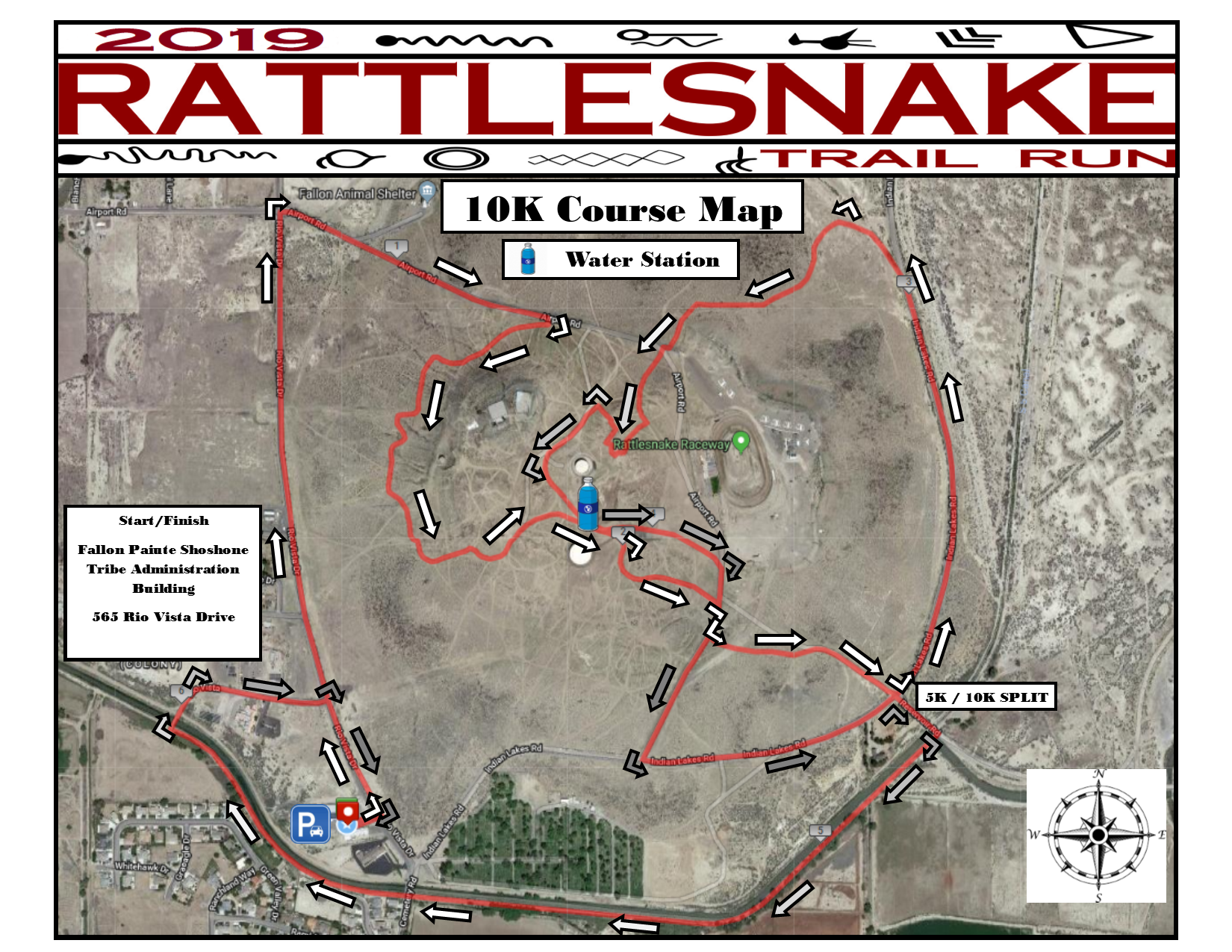Rattlesnake Trail Run (2019) - 10K Course Map.png